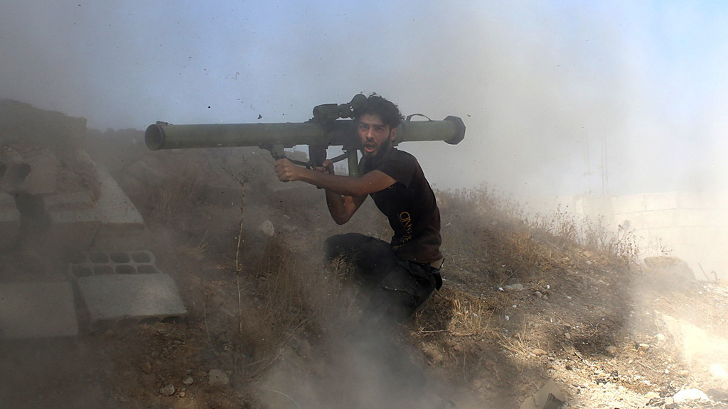 Syrian rebel attacks army position (Reuters)