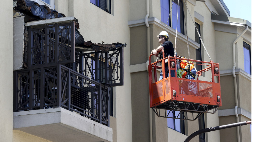 Six students were killed after a balcony they were on collapsed in California