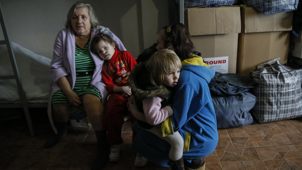 The refugees from Ukraine mainly come from the east of the country
