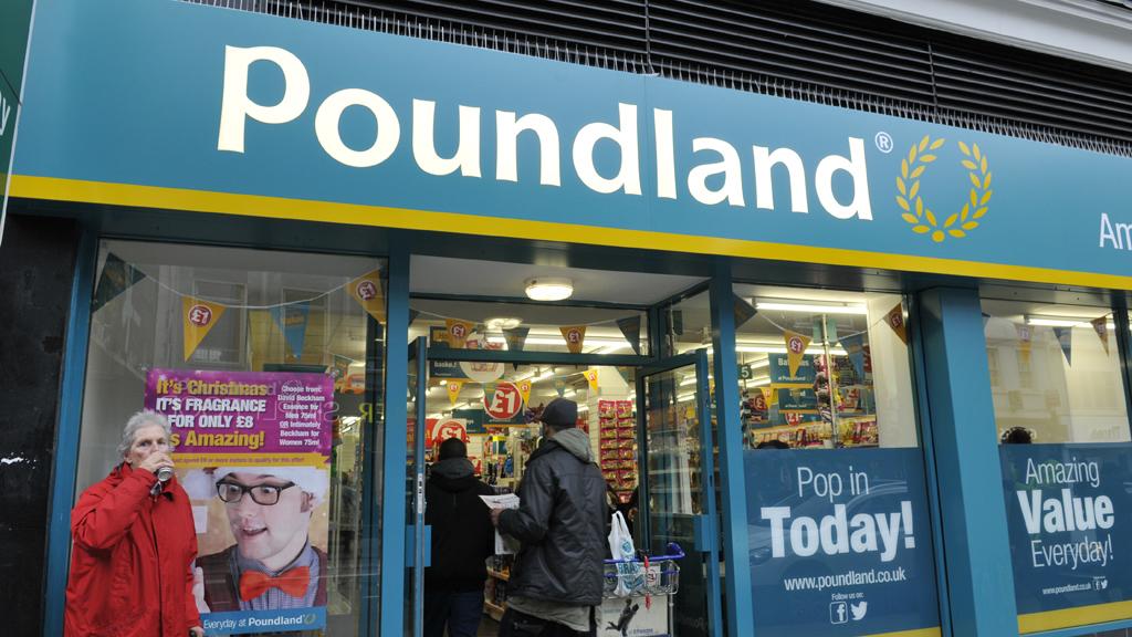 Poundland store (Getty)
