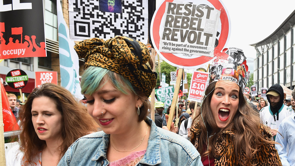 End Austerity march in London