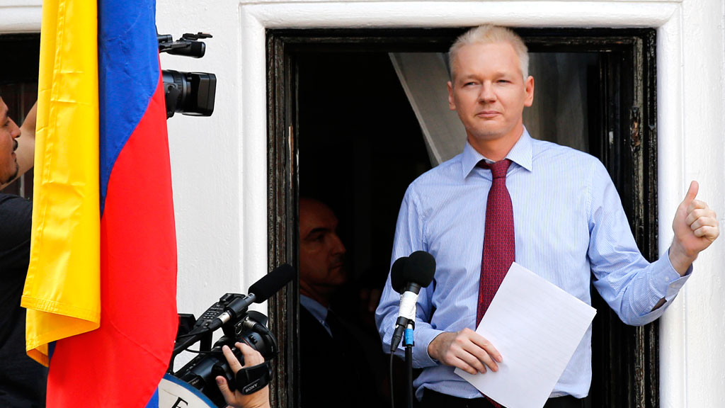 Assange will face Swedish prosecutors inside embassy