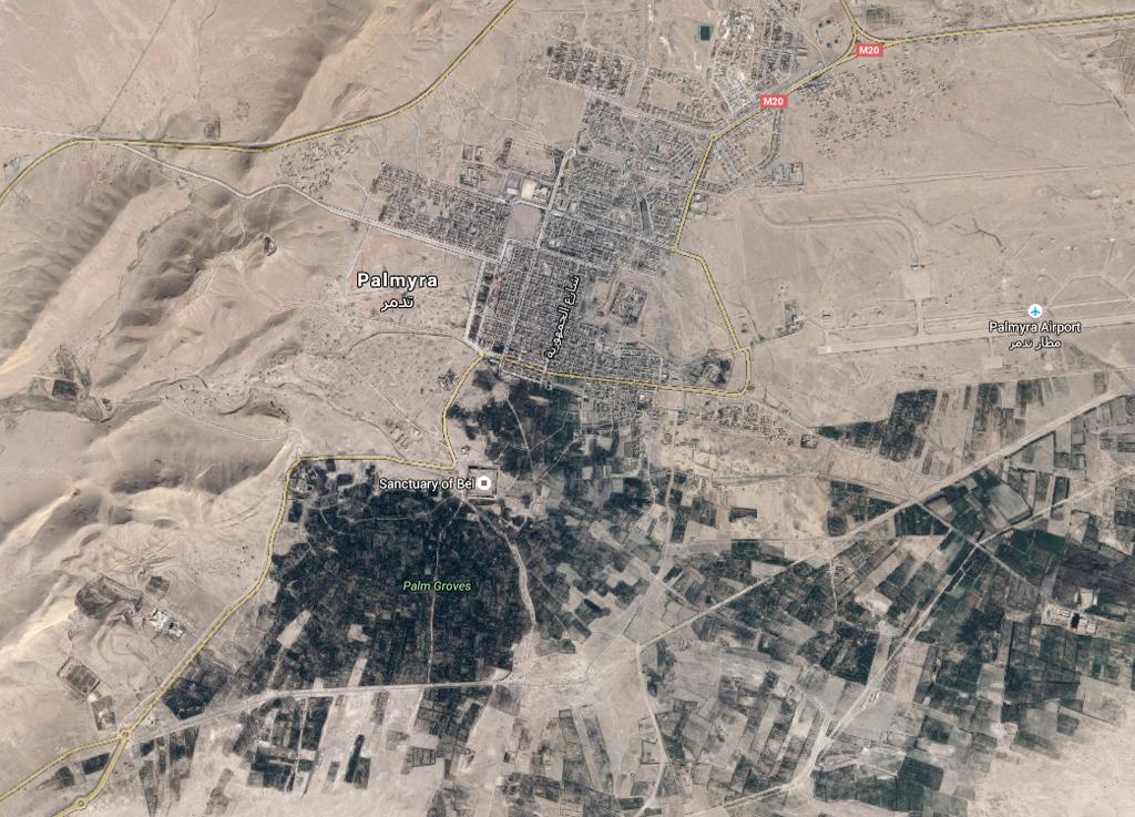Palmyra (Google Earth)