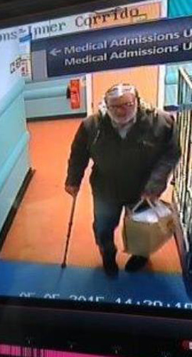 CCTV image of missing man Andrew Lambert (Devon and Cornwall police)