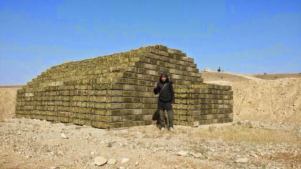 Ammo haul near Palmyra