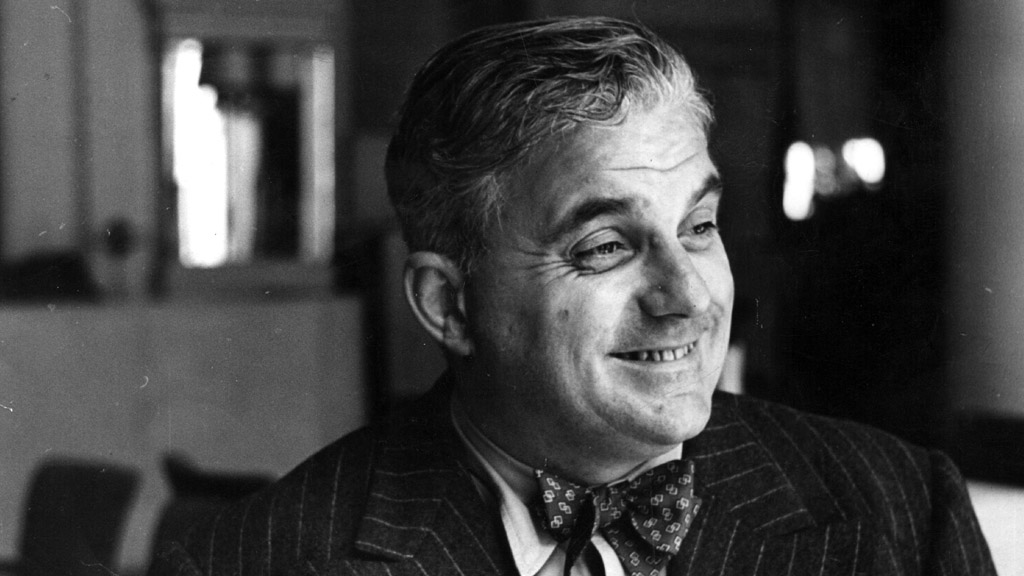 Lord Boothby, photographed in 1949 (Getty)