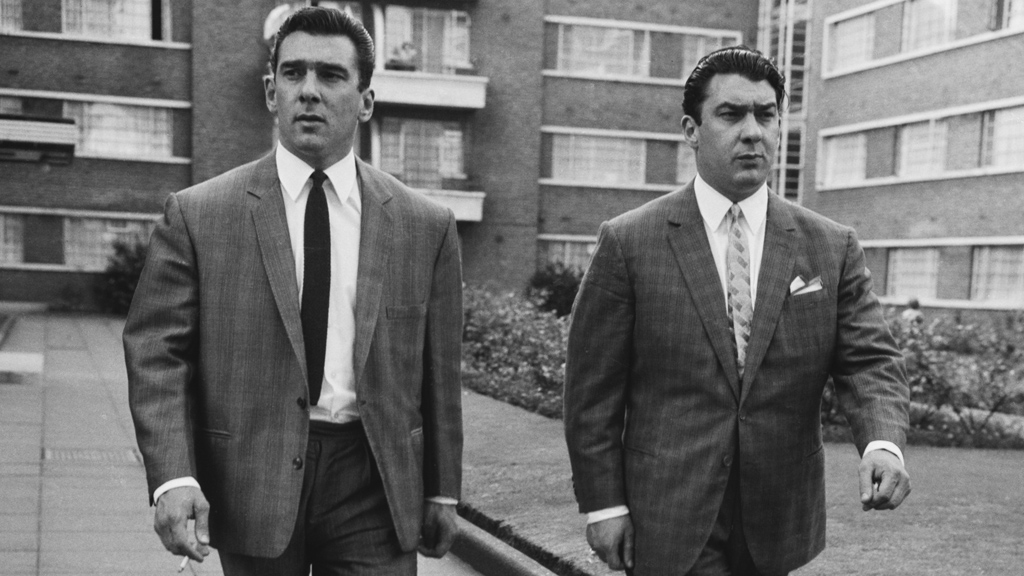 Reggie and Ronnie Kray (Getty)