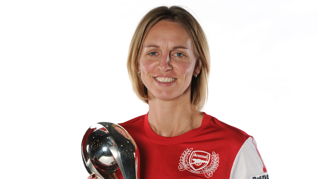 Arsenal and England defender Faye White (Getty Images)