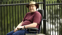 A disabled man says he will continue his fight for wheelchairs to be given priority over buggies on buses, despite losing his case at the appeal court.