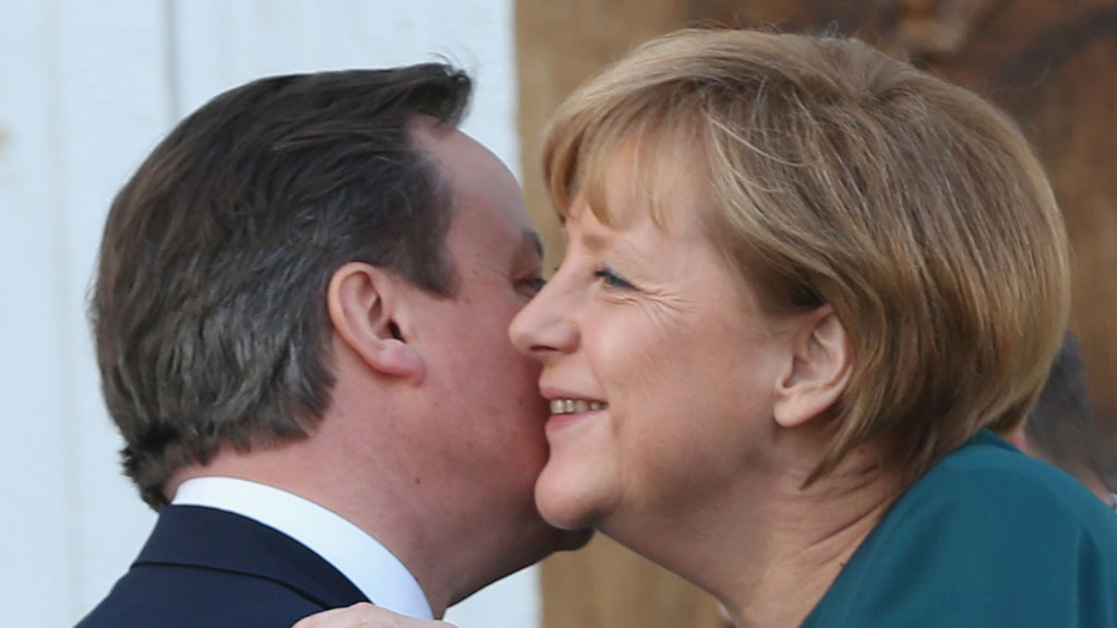 David Cameron and Angela Merkel (Getty)