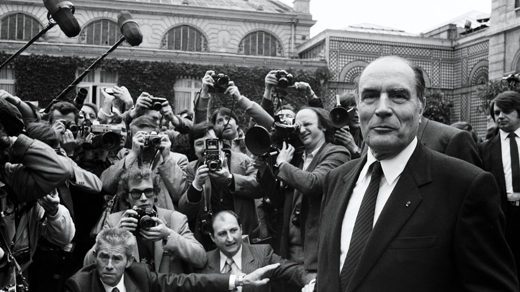 President Francois Mitterrand (Getty Images)
