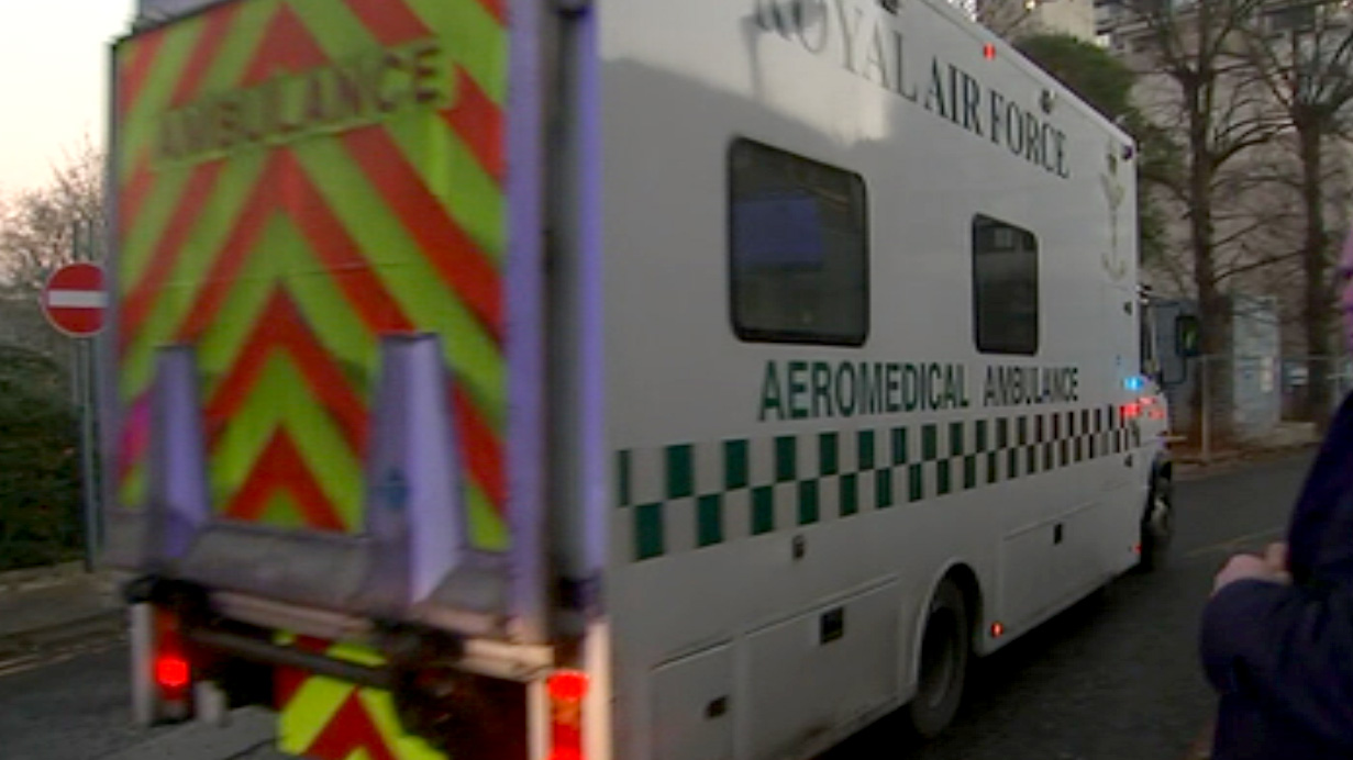 Scottish Ebola patient moved to London