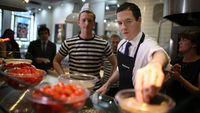 George Osborne makes a pizza (Getty Images)