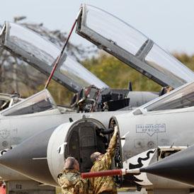 RAF at full stretch: Sir Stephen Dalton (reuters)