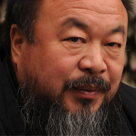 Ai Weiwei was detained at Beijing airport on Sunday.