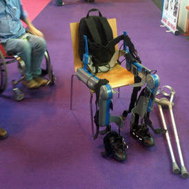 The ReWalk device has been launched in the UK.