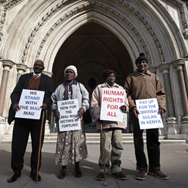 Claimants act on behalf of thousands who claim British torture (reuters)