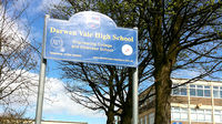 Darwen High school in Lancashire