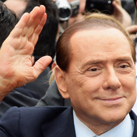 Italian Prime Minister Silvio Berlusconi has arrived in court to face the latest in a series of trials over the coming weeks on charges ranging from tax fraud to paying for sex with a minor (Getty)