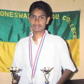 Ragihar, Dr Manorharan's son who was killed in Sri Lanka (Amnesty International)