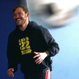 London Marathon: singer Will Young in training. (Courtesy: Catch22)