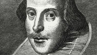 William Shakespeare, a version of whose play Cardenio, which he is thought to have co-written with John Fletcher, is being performed by the Royal Shakespeare Company (Getty)