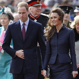 Prince William and Kate Middleton. (Reuters)