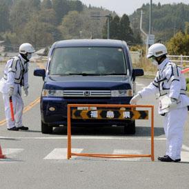 Japan bans people from entering Fukushima evacuation zone (Reuters)