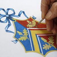 Kate Middleton family coat of arms. (Reuters)