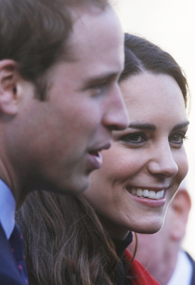 Prince William and Catherine 'Kate' Middleton. (Getty)