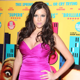 Big Brother contestant Imogen Thomas named in a super-injunction (Getty)