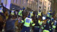 Rioting in Bristol (ITV News)