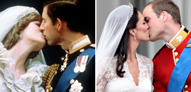 Royal Wedding: from Diana to Kate