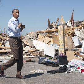 Tornado death toll rises as Obama pledges aid