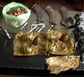 Afghan National Police images of weapons believed to be supplied to the Taliban by Iran.
