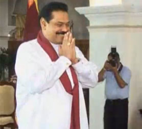 Sri Lankan President Mahinda Rajapakse is in London as new war crimes allegations surface