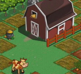 Farmville on Facebook.
