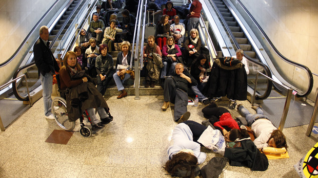 Spain strikes: thousands of passengers stranded across Europe. (Reuters)