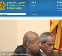 Sri Lanka Lessons Learnt and Reconciliation Commission