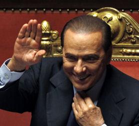Silvio Berlusconi survives no-confidence vote (Reuters)