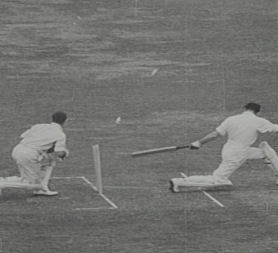 England cricket in 1948 (British Council Film Archive)