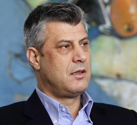 Kosovo PM Hashim Thaci