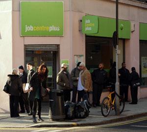 Unemployment reaches 2.5million (Getty)