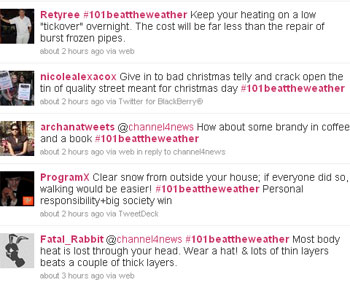 UK snow: Your tips for outwitting the winter weather