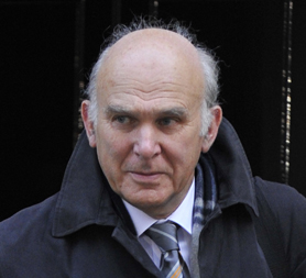 Vince Cable declares war on Rupert Murdoch. (Reuters)