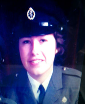 Jean Macdonald when she was serving in military