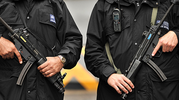 Nine men are due in Westminster court today on terrorism charges after dawn police raids last week (Image: Getty)