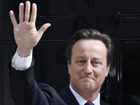 2010 winner: David Cameron. (Reuters)