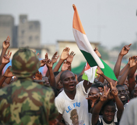 Potential humanitarian situation in Ivory Coast could escalate following the unresolved elections (Reuters)
