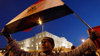 Protesters mass across Egypt to call for an end to Mubarak
